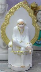 Marble Shirdi Sai Nath Statue