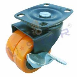 Brake Double Wheel Castor