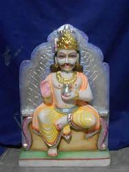 3 Feet Marble Disha Dev Statue