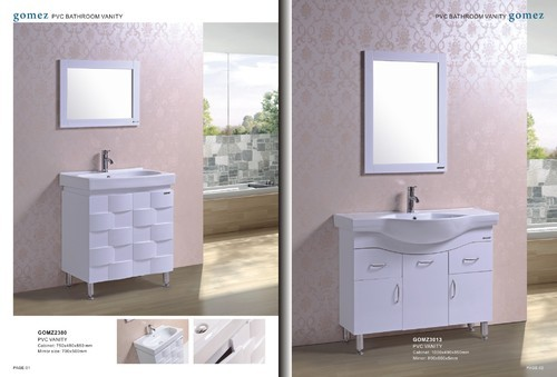 pvc bathroom vanity