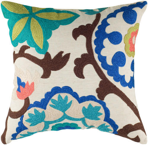 Suzani Pattern In Aari Embroidery Cushion Covers Roshan Creations