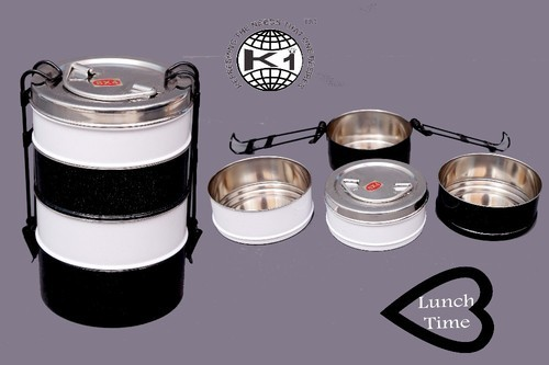 Steel Designer Tiffin Ware