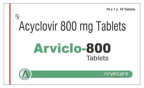 Acyclovir 800 Mg Tablets