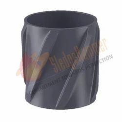 Aluminum Spiral Vane Solid Body Centralizer 01 DAS02