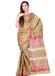 Cotton Printed Casual Wear Sarees
