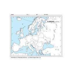 Political Map Of Erope.Europe Political Outline Map United Publication Manufacturer In