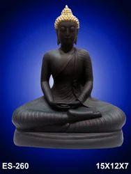 Shriji Black Fibre Statue, For Decoratio, Size: 15 X 12 X 7
