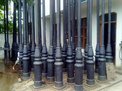 Ornamental Cast Iron Electricity  Poles