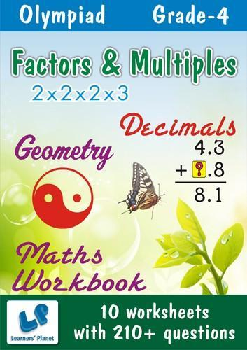 Grade-4-Olympiad-Math-Dec,Factor-Multiples-Geometry-WB - See - My I