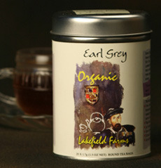 Black Organic Tea Earl Grey