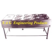 8 Round Compartment Bain Marie