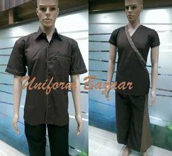 Men Spa Uniforms