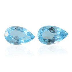 Faceted Blue Topaz Loose Gemstone