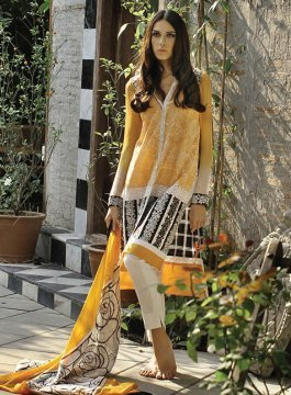 eb287206da LSM Zunuj Lawn Suit, Lsm | Basheer Bagh, Hyderabad | Mushi Designers ...
