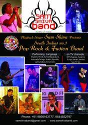 Live Music Band Kochi-samshivaband