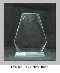 15cm Crystal Trophies