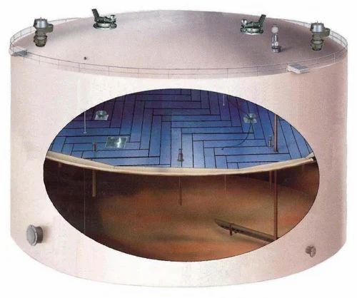 Internal Floating Roof Tank Designing, Capacity / Size: Size