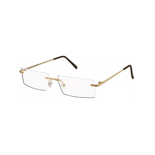 7db27fd00a2 Optical Rim Less Optical Gold Spectacle Frame - Balaji Exim