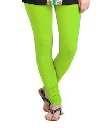 Ladies Green Leggings