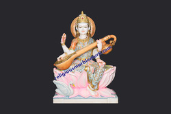 God marble Statue Saraswati Maa