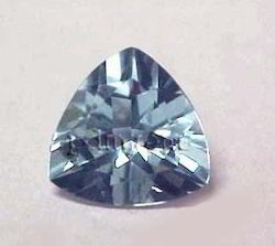 Aquamarine Trillion Gemstone