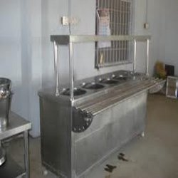 Stainless Steel Bain Marie 4 Compartment