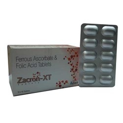 Ferrous Asccorbate 100mg Folic Acid 1.5mg