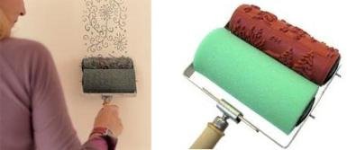 Paint Brushes Rollers & Trays - Designer Paint Roller