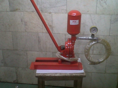 Grouting Pumps Manual Grout Pump Manufacturer From Delhi