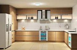Premium Modular Kitchen Model