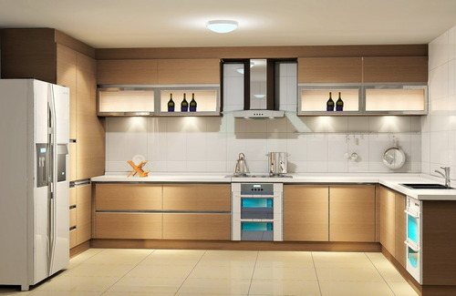 Ghosh Premium Modular Kitchen Model