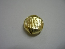 New Design Round Gold Plated Beads