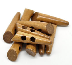 Wooden Finish Toggles