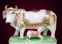 Cow Statue with Calf