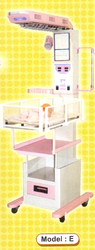 Radiant Heat Warmer Fixed Bassinet With One Drawers
