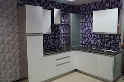 Colored Stainless Steel Modular Kitchens
