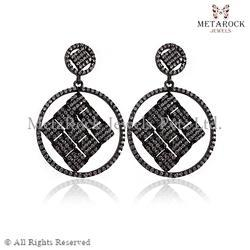Diamond Filigree Earring