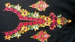 Embroidered Boots for Sarees And Suits