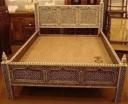 Double Bed without Box, Warranty: 1 Year