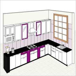 Low Budget Kitchen Design In Rk Nagar 80 Feet Road Kanpur