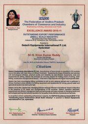 Excellence Award 2010-11
