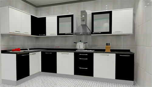 L Shape Kitchen At Rs 150000 Per Set