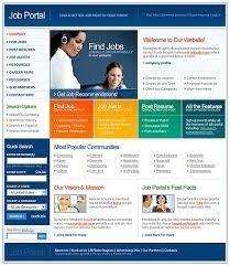 Job Portal Website Service