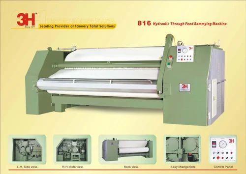 Hydraulic Through Feed Sammying Machine