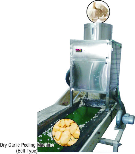 Automatic Garlic Skin Remover Machine