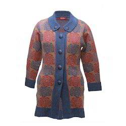 Modern Ladies Woollen Coat