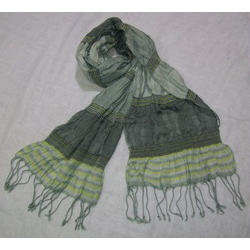 Printed Ladies Lycra Crinkle Scarves