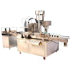 KI-MACHINES Mono Block Filling Capping Machine, 3 Kw