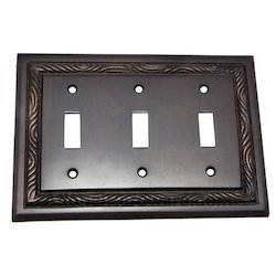 3 Toggle Rope Switch Plate