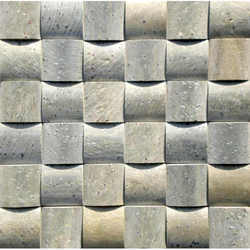 Green Slate 3D Mosaic Tiles